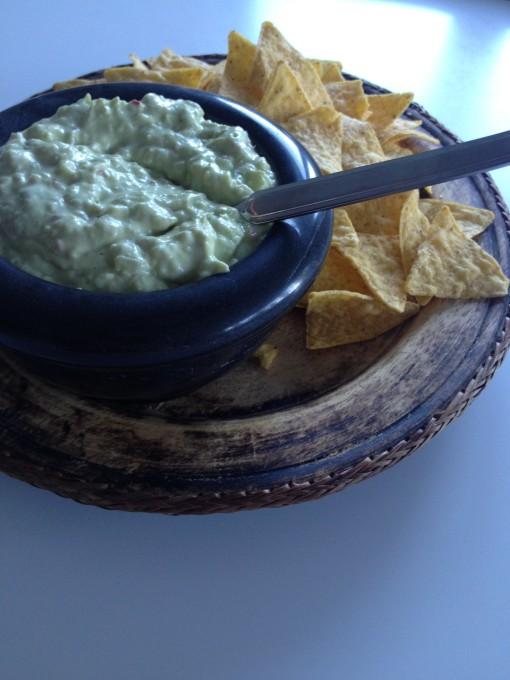 Guacamole og nachos